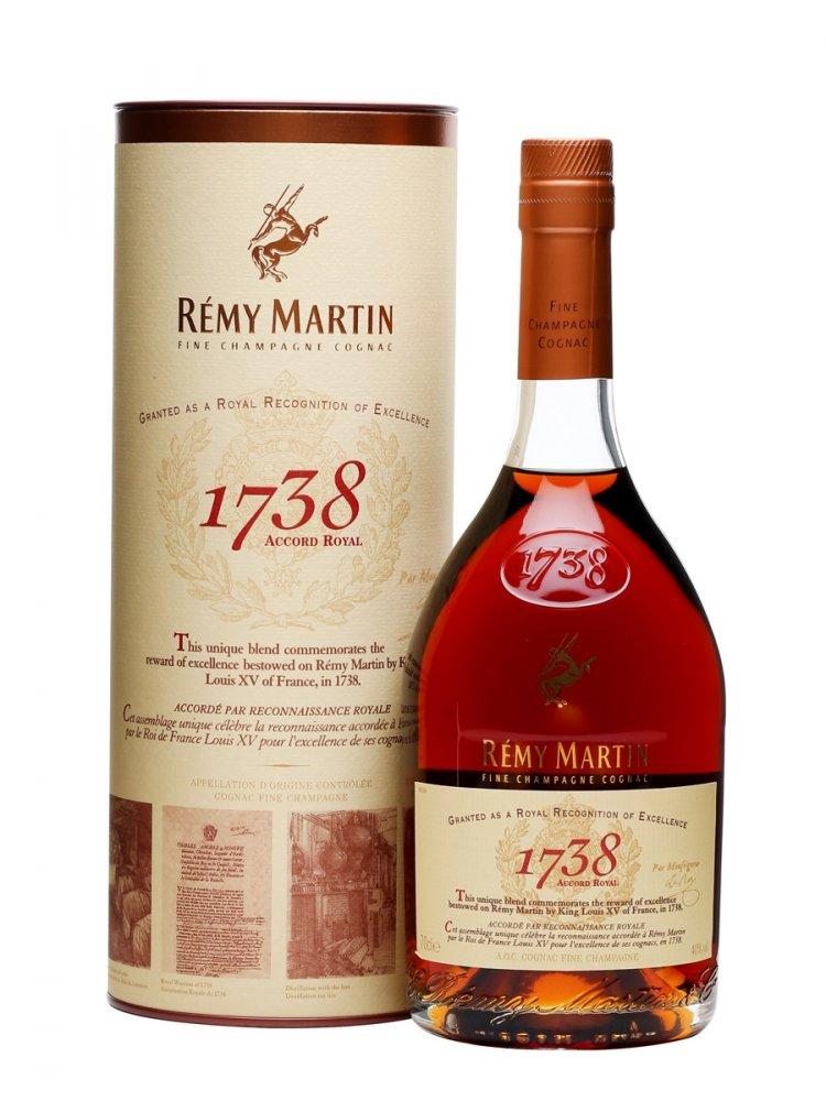 Remy Martin 1738 Accord Royal 0,7l 40%