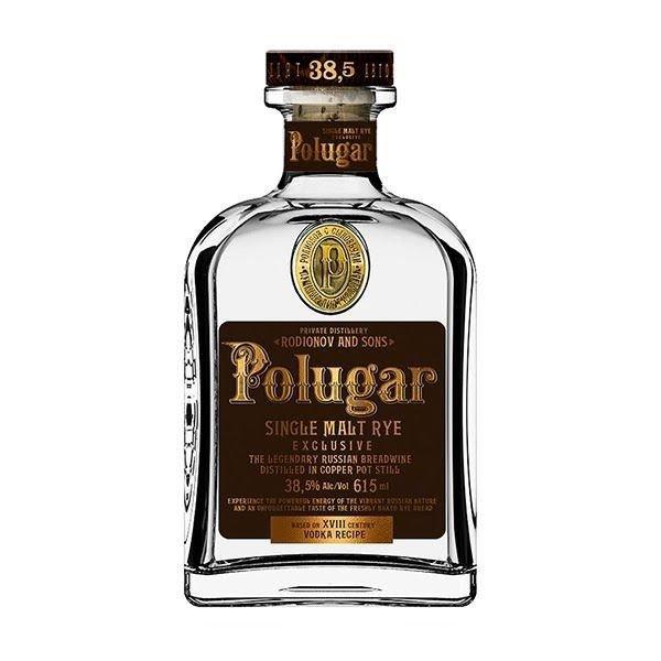 Polugar Single Malt Rye Vodka 0,7l 38.5%