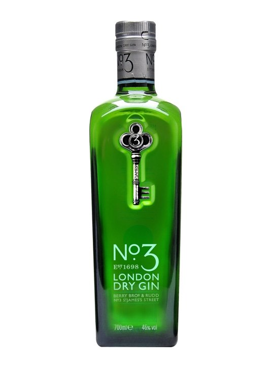 No 3. London Dry gin 0,7 l