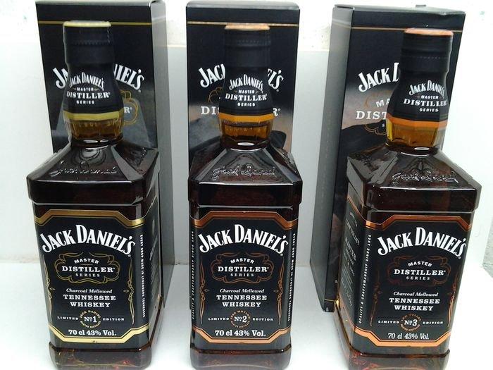 Jack Daniel's Master Distiller Series No.1, 2 a 3 3×0,7l