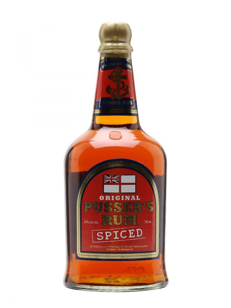 Pusser's British Navy Rum 0,7l 35%