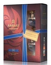 Brandy Ararat 20YO 0,7l 40% + 2x sklo