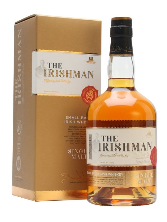 The Irishman Single Malt 0,7l 40%