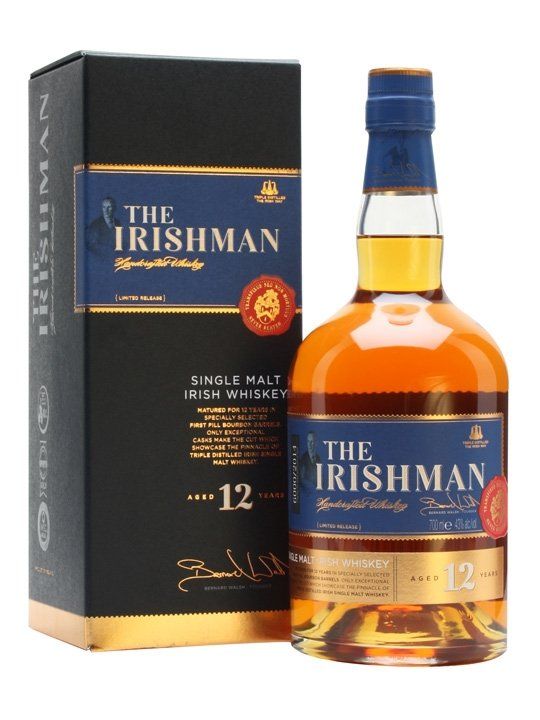 The Irishman Single Malt 12y 0,7l 43%
