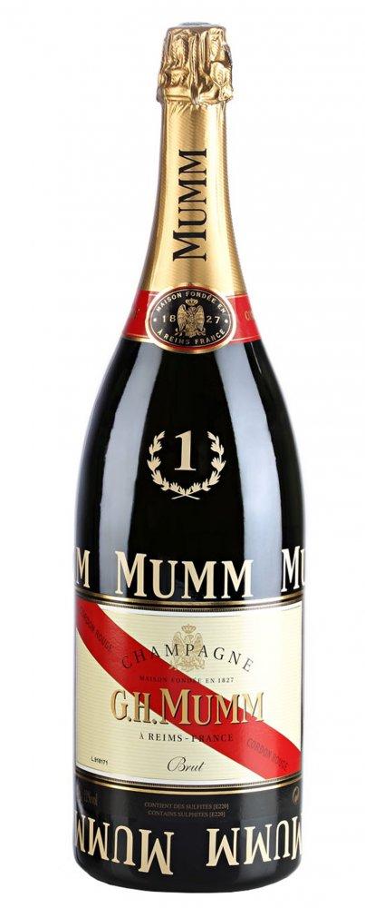 Mumm Cordon Rouge F1 Magnum Brut 1,5l 12,5%