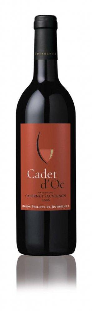 Baron Philippe de Rothschild Cadet d´Oc Cabernet Sauvignon 2014 0,75l 13%