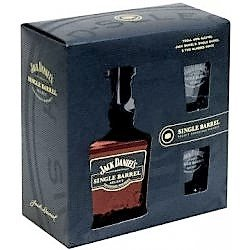 Jack Daniels Single Barrel 0,7l 45% + 2x sklo