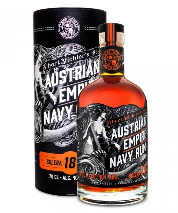 Austrian Empire Navy Rum Solera 18 yo 0,7L 40%