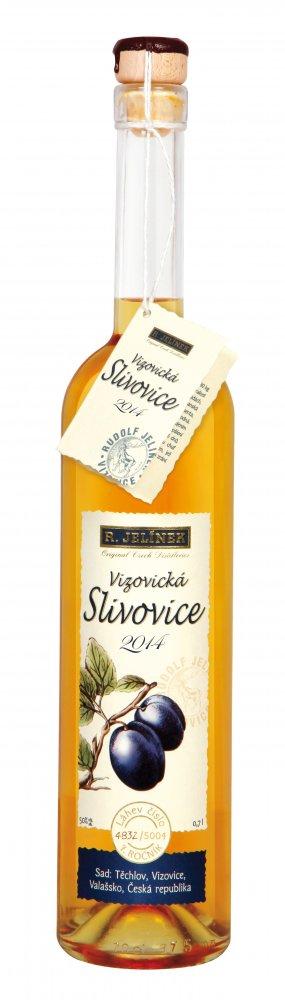 Vizovická Slivovice 2014 0,7l 50%