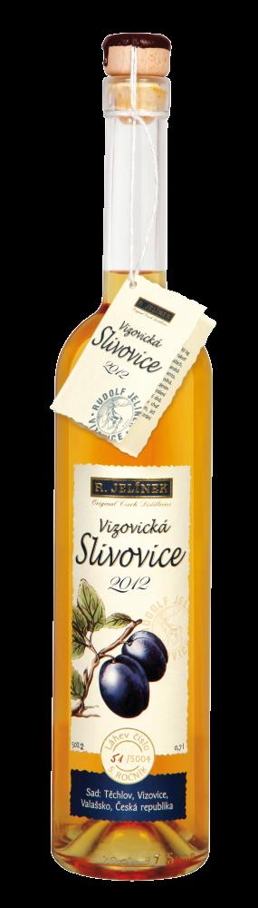 Vizovická Slivovice 2012 0,7l 50%