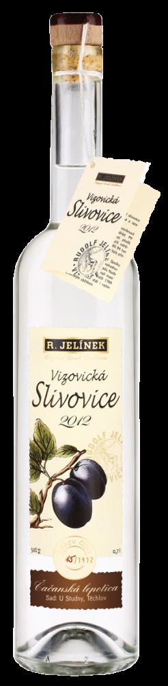 Vizovická Slivovice Čačanská Lepolica 2012 0,7l 50%