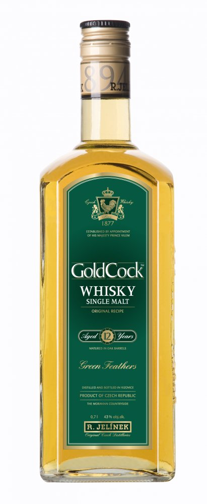 Gold Cock 12y single malt 0,7l 40%