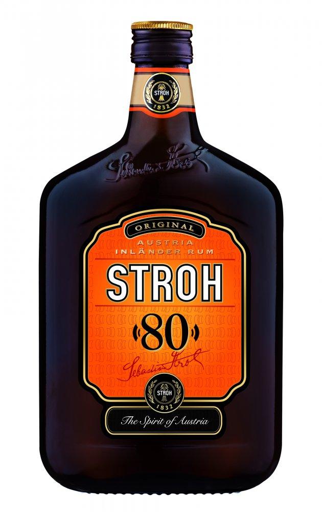 Stroh rum 0,5l 80%