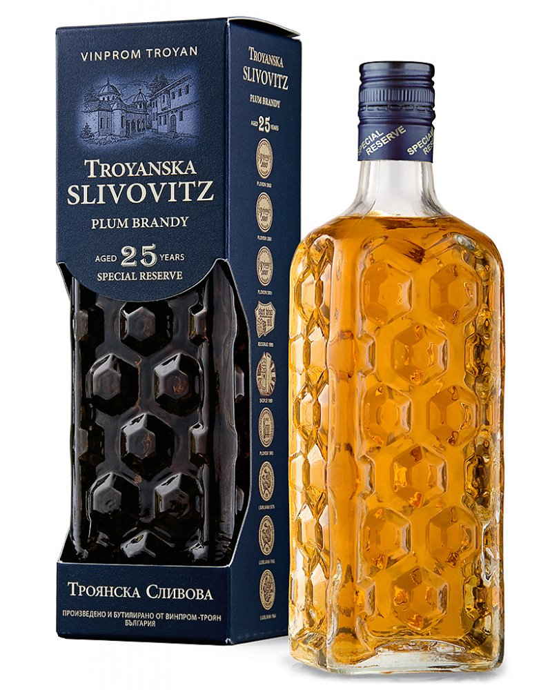 Slivovice Troyan 25y 0,7l 40%