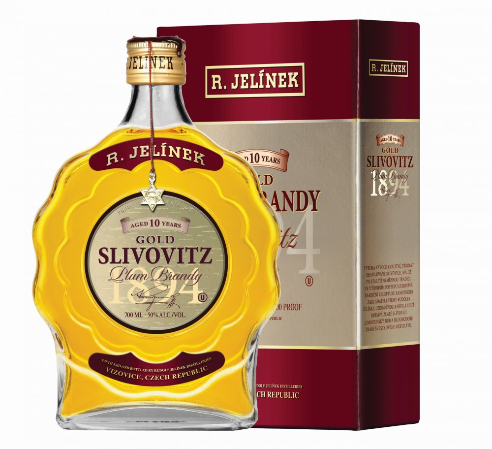 Slivovice Kosher Gold 0,7l 50%