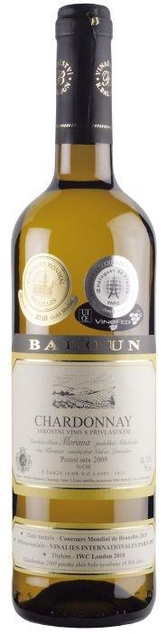 Baloun Chardonnay Pozdní sběr 2015 0,75l 13,5%