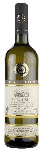 Baloun Sauvignon Pozdní sběr 2015 0,75l 13.5%