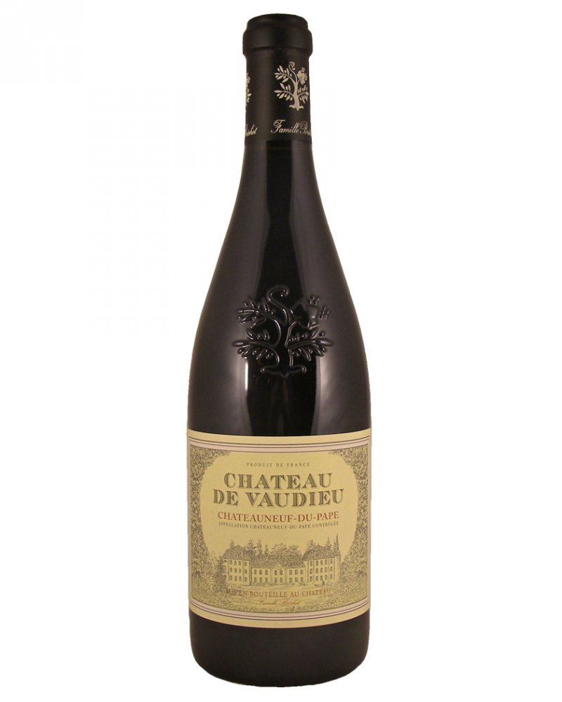 Chateau Vaudieu Chateauneuf du Pape 2012 0,75l 14,7%