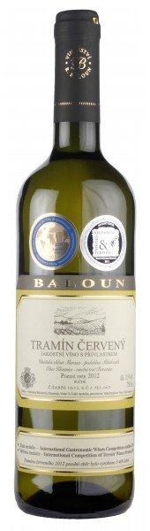 Baloun Tramín červený Pozdní sběr 2012 0,75l 13,5%