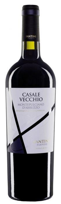 """Farnese Montepulciano d'Abruzzo 2014 DOC """"Casale Vecchio"""" 2015 0,75l 14%"""