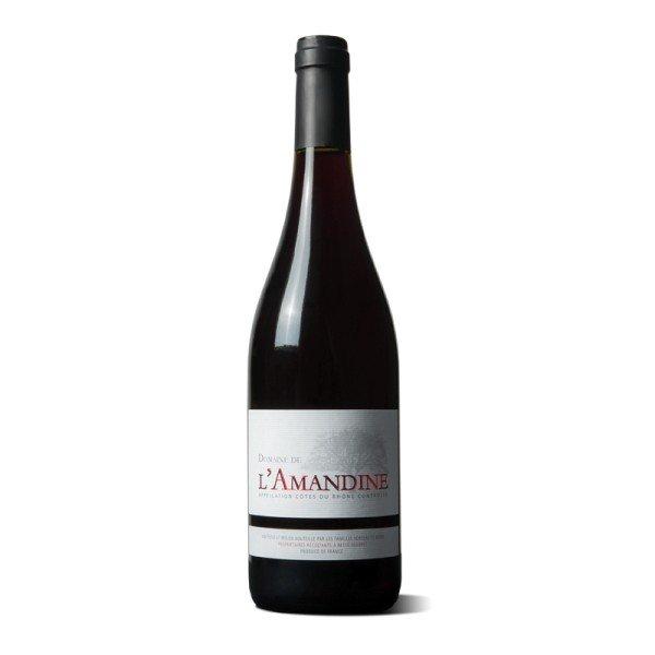 Domaine de l'Amandine Coteaux du Rhone Rouge 2015 0,75l 13%