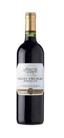 Chateau Franc Couplet Bordeaux rouge 2012 0,75l 13%