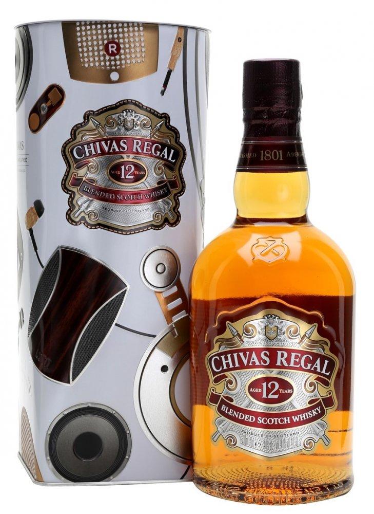 Chivas Regal 12y 0,75l 40% Plech