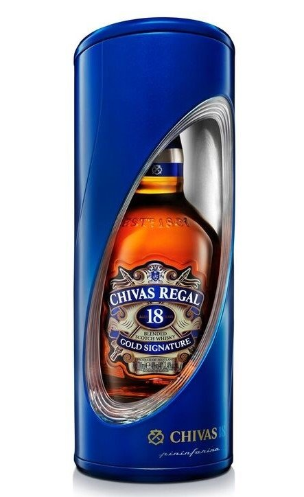 Chivas Regal Pininfarina 18y 0,7l 40% GB