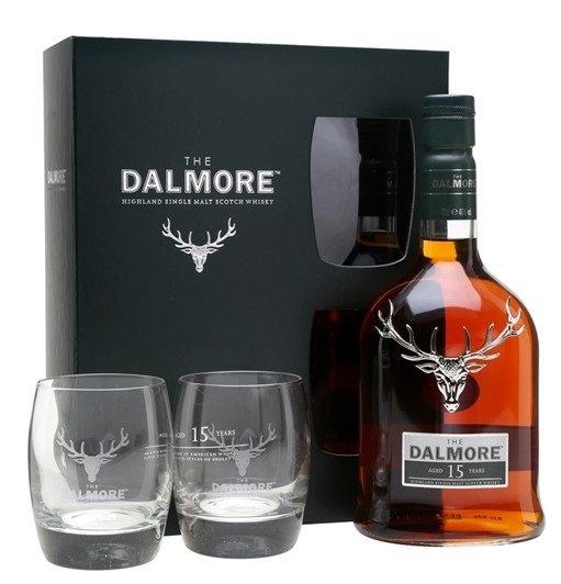Dalmore 15y 0,7l 40% + 2x sklo GB
