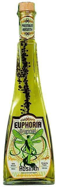 Euphoria Absinth Original 0,5l 70%