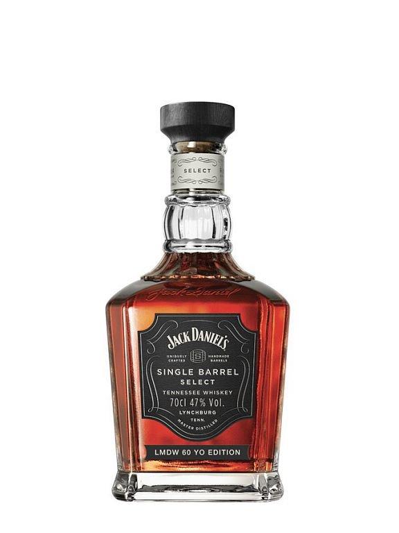 Jack Daniel's Single Barrel 60th La Maison du Whisky 0,7l 47% LE