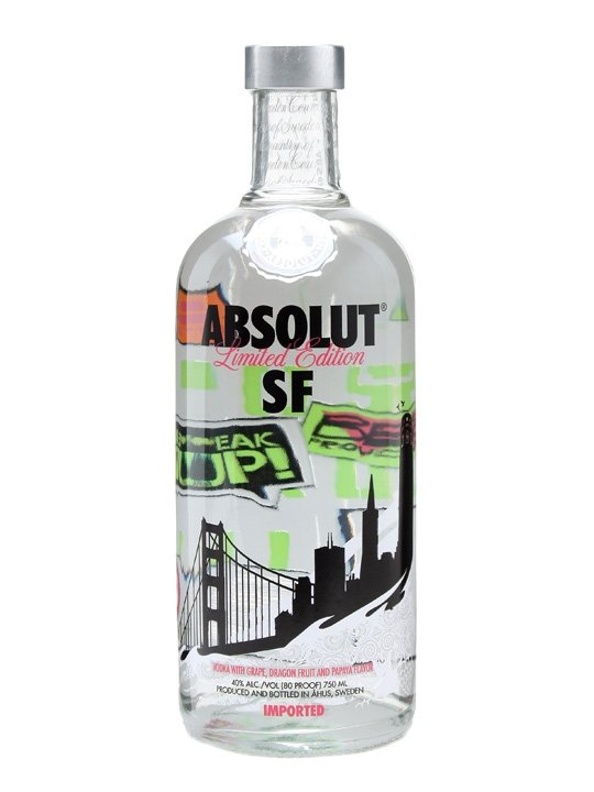 Absolut San Francisco 0,7l 40% LE