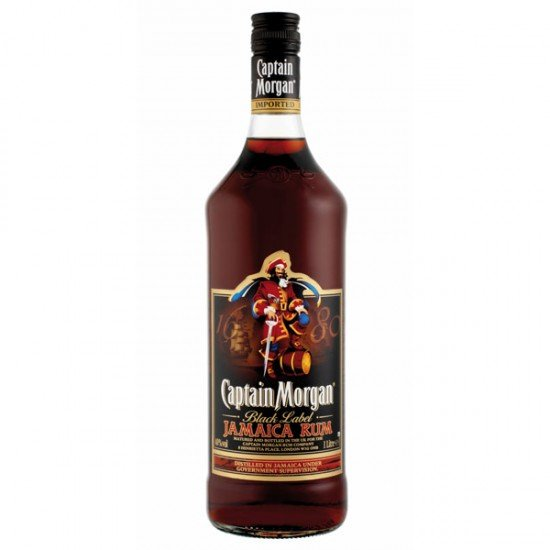 Captain Morgan Black 1l 40%