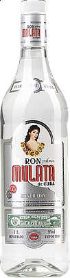 Ron Palma Mulata Silver Dry 1l 38%