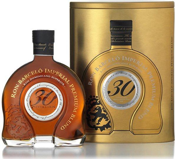 Ron Barcelo Imperial Premium Blend 30y 0,7l 43% Plech