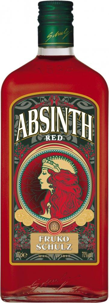 Fruko Shulz Absinth Magic Red 0,7l 70%