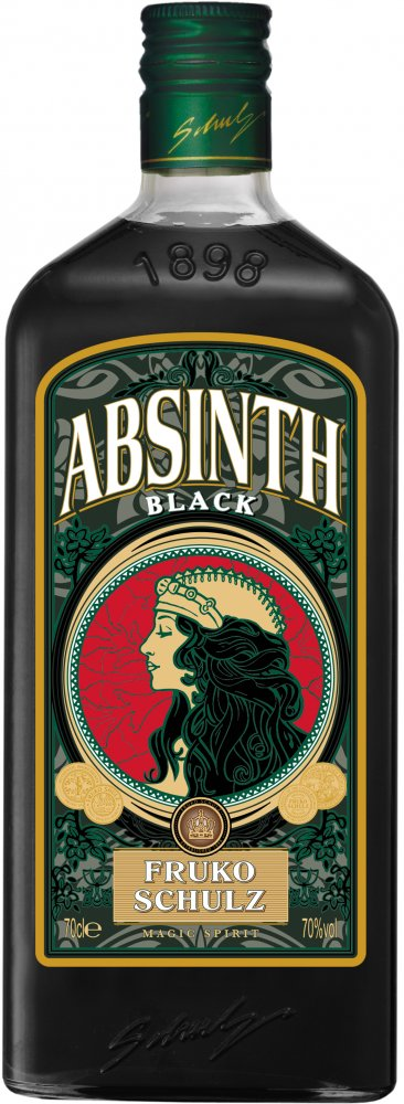 Fruko Shulz Absinth Magic Black 0,7l 70%