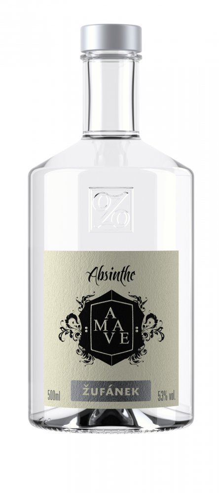 Absinthe Amave blanche Žufánek 0,5l 53%