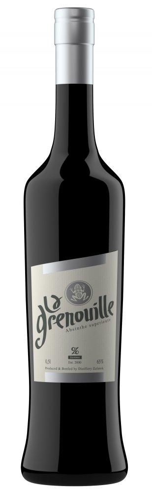 Absinthe La Grenouille Žufánek 0,5l 65%