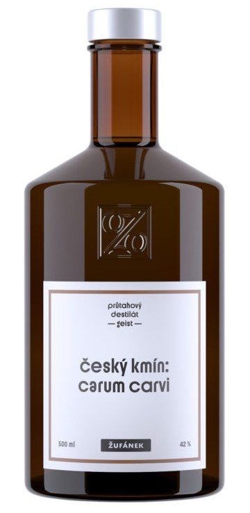 Český kmín Žufánek 0,5l 42%