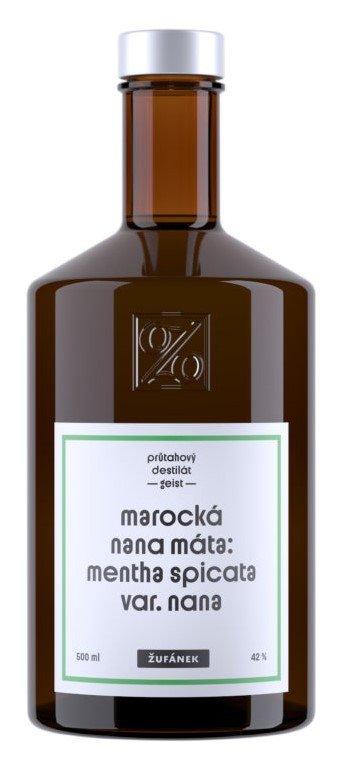 Marocká nana Máta Žufánek 0,5l 42%