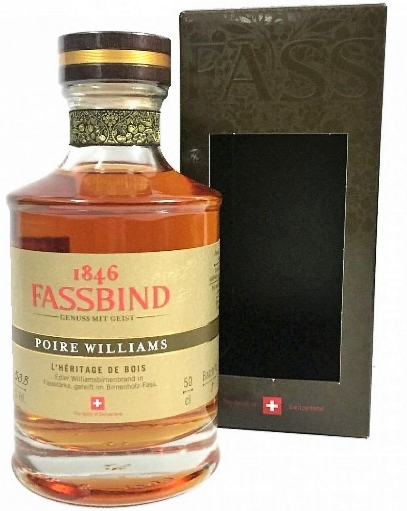 Fassbind Poire Williams L´Heritage De Bois 0,5l 53,8% GB LE