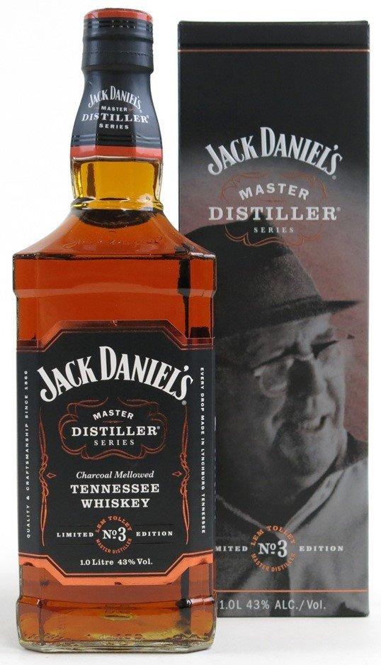 Jack Daniel's Master Distiller No.3 1l 43% GB LE