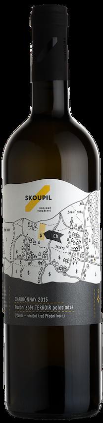 Petr Skoupil Chardonnay TERROIR Pozdní sběr 2015 0,75l 12%