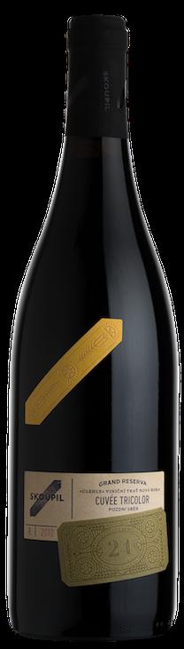 Petr Skoupil Cuvée Tricolor RESERVA Výběr z hroznů 2015 0,75l 12%