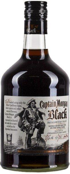 Captain Morgan Black 0,7l 37.5%