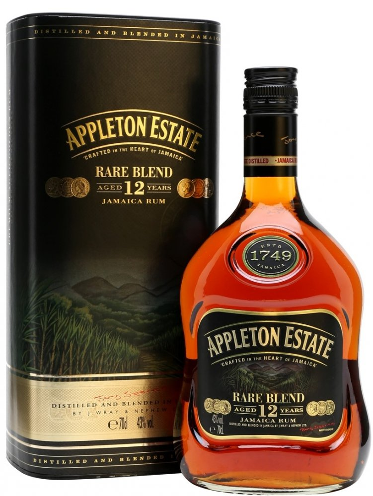 Appleton Estate Extra 12y 0,7l 43%