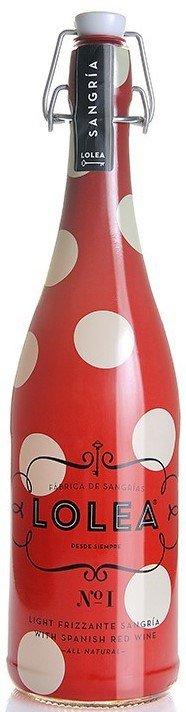 Sangria LOLEA No.1 Red Frizzante 0,75l 7%