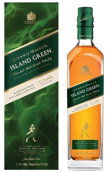 Johnnie Walker Island Green 1l 43% GB LE