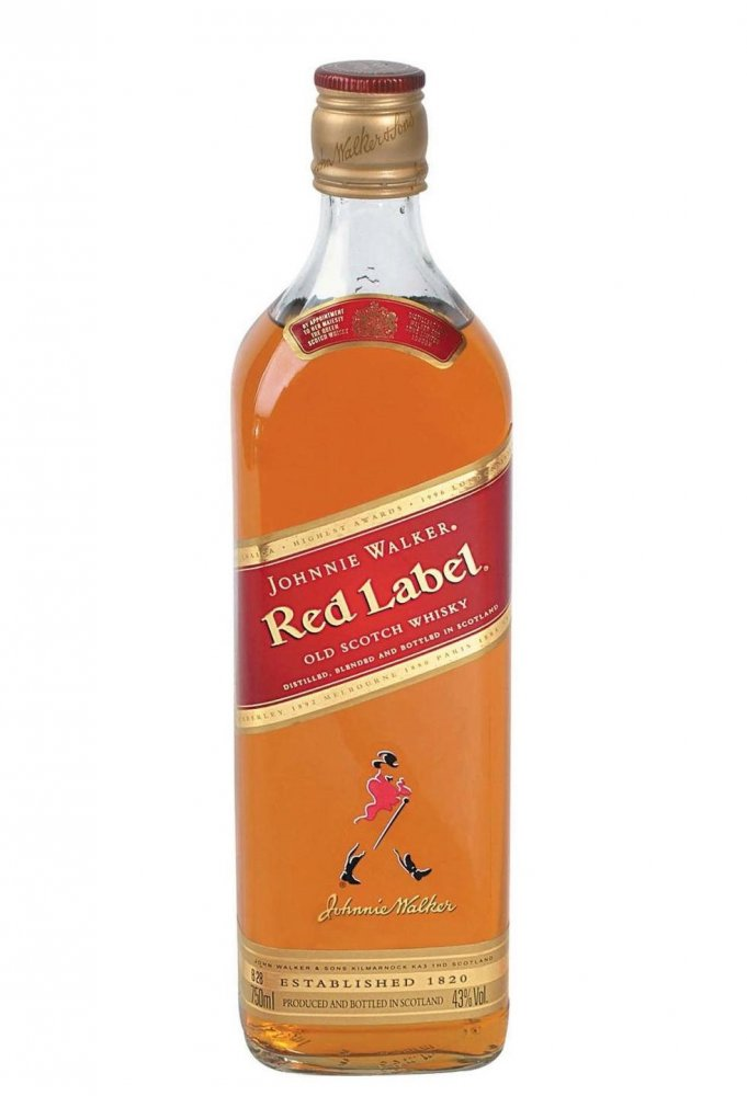 Johnnie Walker Red Label 3l 40%